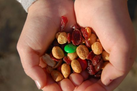 Trail Mix, Cascades Hike, Giles Co, VA by Andrea Badgley on Butterfly Mind