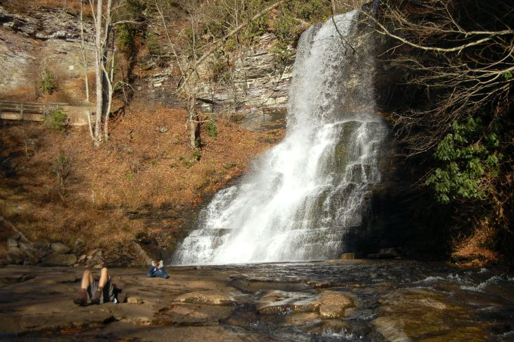 Cascades Waterfall, Cascades Hike, Giles Co, VA by Andrea Badgley on Butterfly Mind