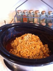 4:30 pm Shredded chicken for tacos