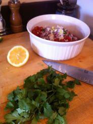 5:30 Making salsa