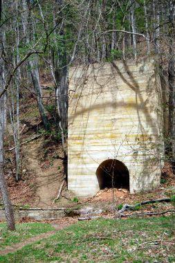 Lime Kiln at Falls Ridge Nature Preserve in Blacksburg, VA on andreabadgley.com