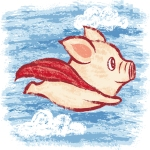 Flying Pig graphic from npr.org