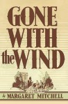 Gone with the Wind by Margaret Mitchell book cover