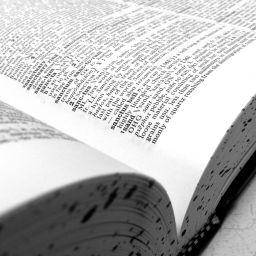 A lexicon
