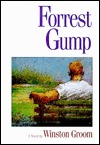 Forrest Gump by Winston Groom book cover on andreareadsamerica.com