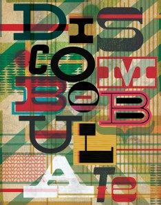 Discombobulate Southern Vintage Typography original PRINT by LiveLoveStudio on Etsy.com