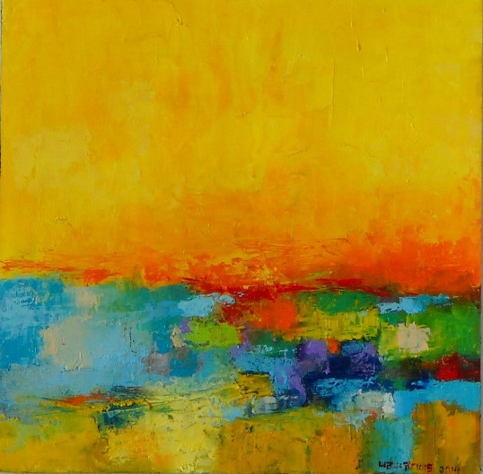 Abstract Painting by ARSartshop on Etsy
