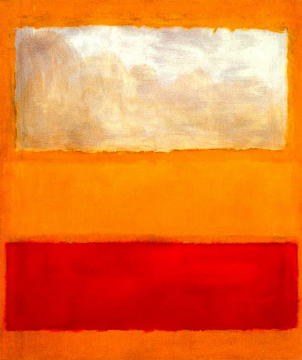 Mark Rothko: No. 13 (White, Red, on Yellow), 1958