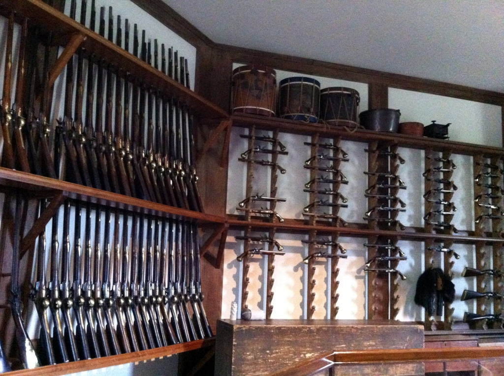 The Armory at Colonial Williamsburg, Virginia by Andrea Badgley on andreabadgley.com