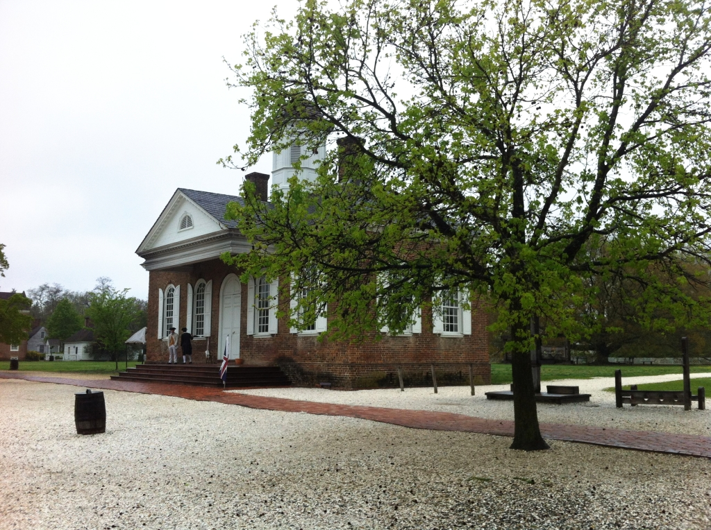 Courthouse - Colonial Williamsburg, Virginia by Andrea Badgley on andreabadgley.com