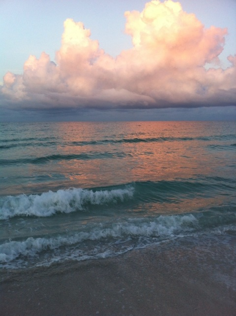 Morning clouds. Anna Maria Island, FL. by Andrea Badgley on Butterfly Mind