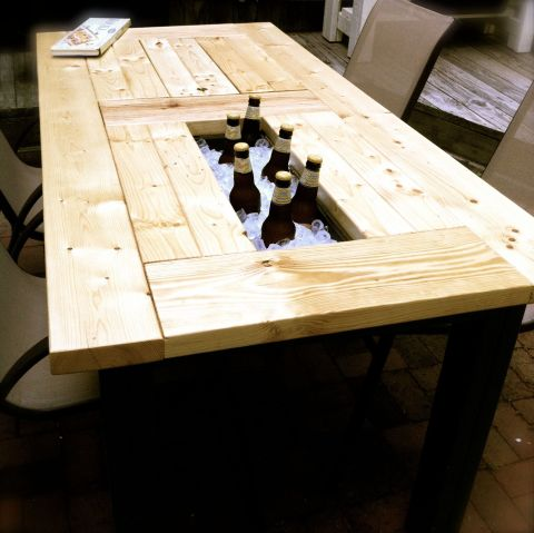 Beer table by Andrea Badgley on Butterfly Mind