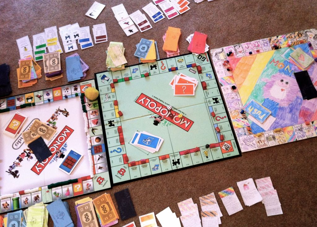 Triple Monopoly by Andrea Badgley on Butterfly Mind
