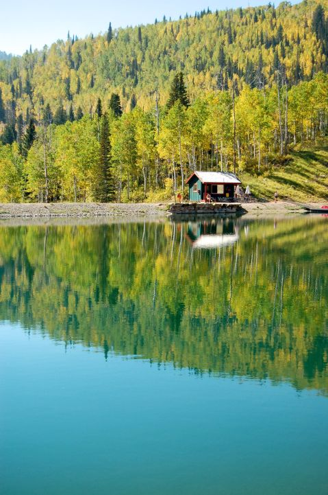 Alpine Lake, Park City, Utah by Andrea Badgley on Butterfly Mind