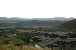 Resort and mountains, Park City, UT