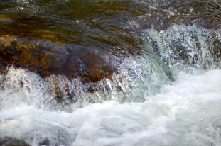 Water over stone, Cascades by Andrea Badgley on Butterfly Mind
