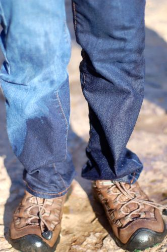 Wet jeans, Cascades hike by Andrea Badgley on Butterfly Mind