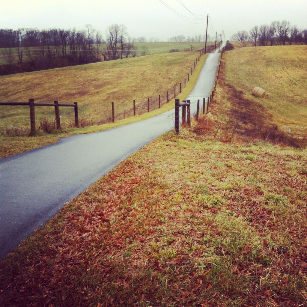 Hilly path by Andrea Badgley on Butterfly Mind
