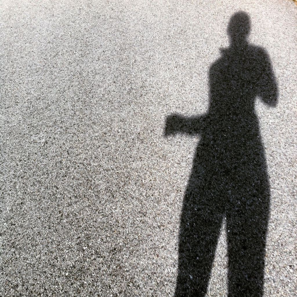 My shadow by Andrea Badgley on Butterfly Mind