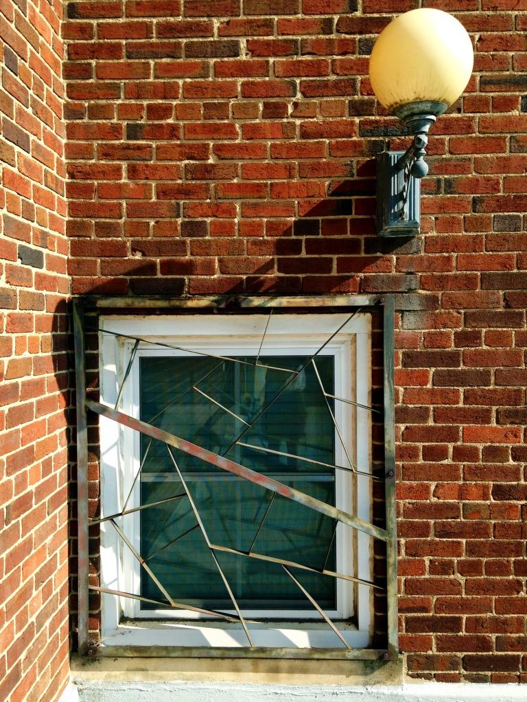 Barred window Winston Salem by Andrea Badgley on Butterfly Mind