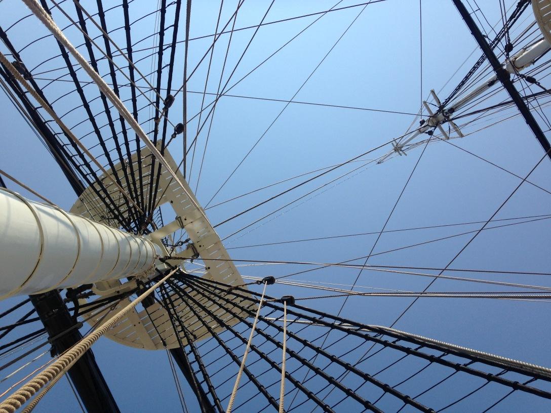 e two masts