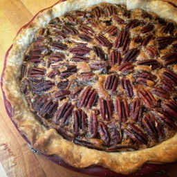 Pecan pie: deconstructed