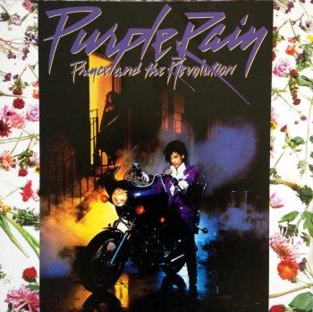 Prince's Purple Rain album cover