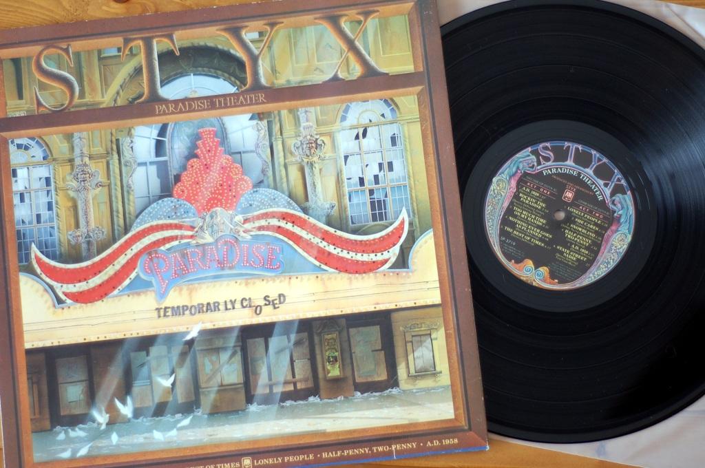 STYX Paradise Theater vinyl album