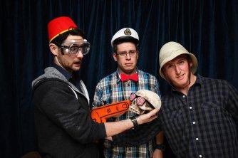My coworkers: Simon, Sandy, Jeremey