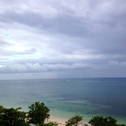 Morning on the balcony in Jamaica