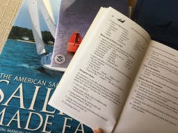 Studying to sail