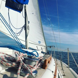 I'm on vacation, so I started a new blog: Andrea Sails
