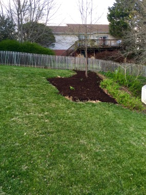 After mulch