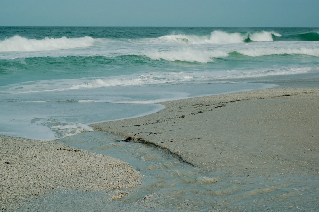 sand runnel waves anna maria