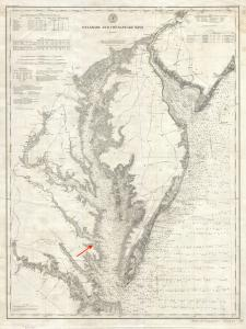 1893_U.S._Coast_Survey_Nautical_Chart_or_Map_of_the_Chesapeake_Bay_and_Delaware_Bay_-_Geographicus_-_ChesapeakeBay-uscs-1893