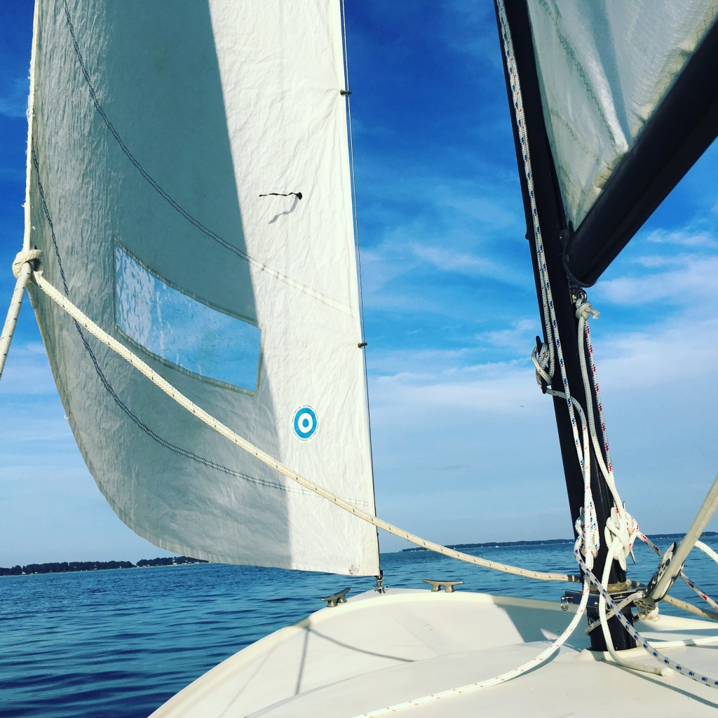 sailing deltaville day one