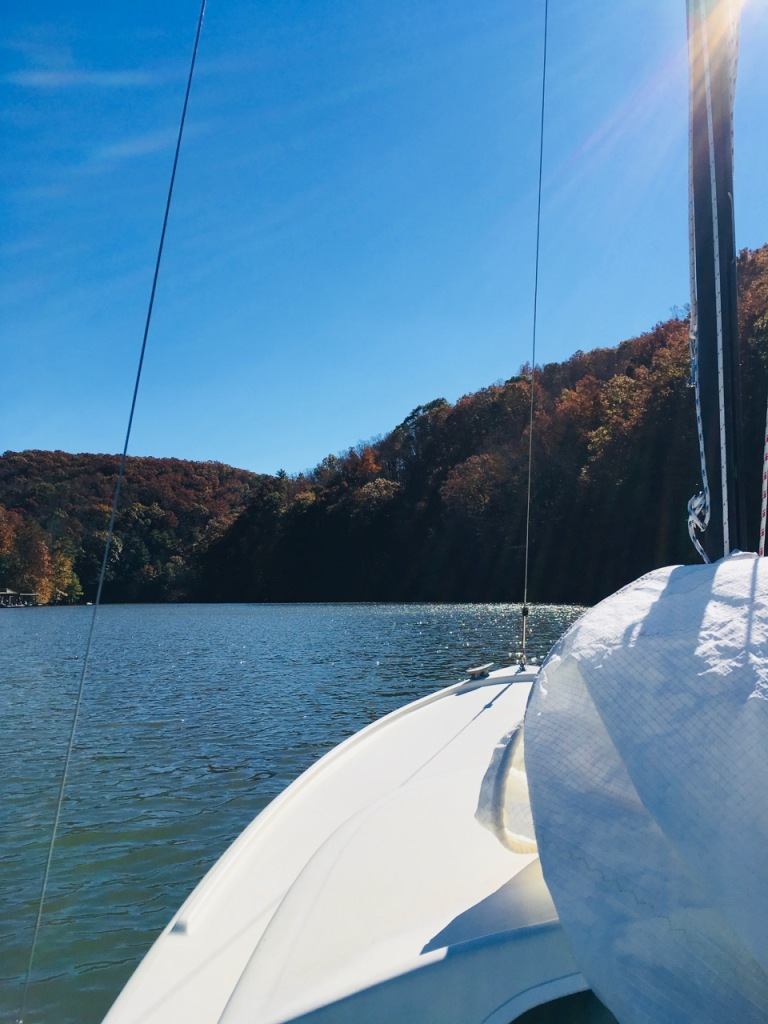 ready to hoist sail claytor lake november