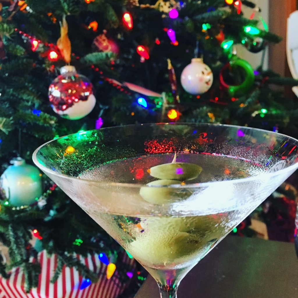Christmas martini IG