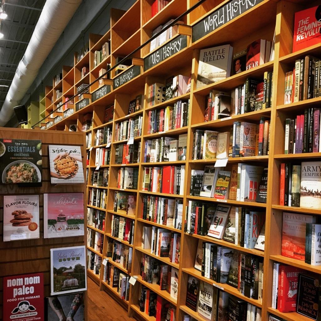parnassus shelves
